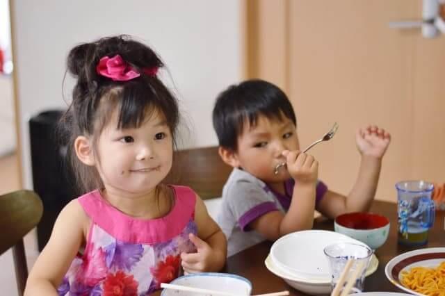 子供の食卓