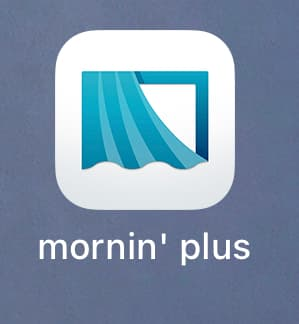モーニンプラスアプリ